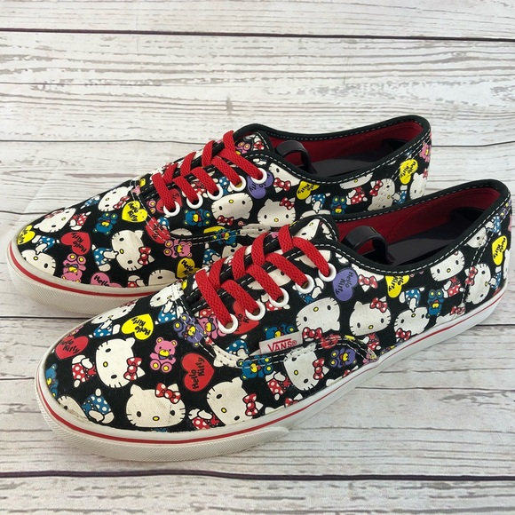 f13c75ae126cb1 Vans Hello Kitty Shoes Women s Size 9.5 Men s 8. M 5ab00e32f9e50160ade550ea